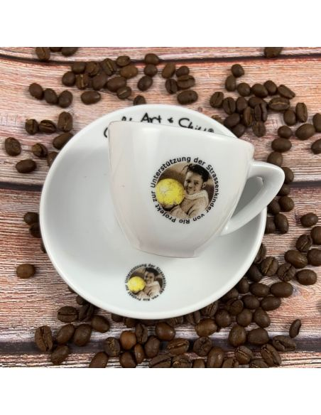 Tasse passend zum Kaffee