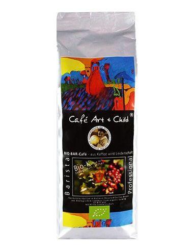Café Art & Child Barista Bio Kaffee